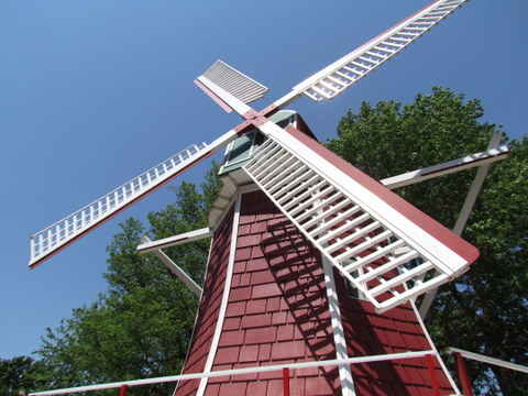Danish Windmill in Orange City, IA