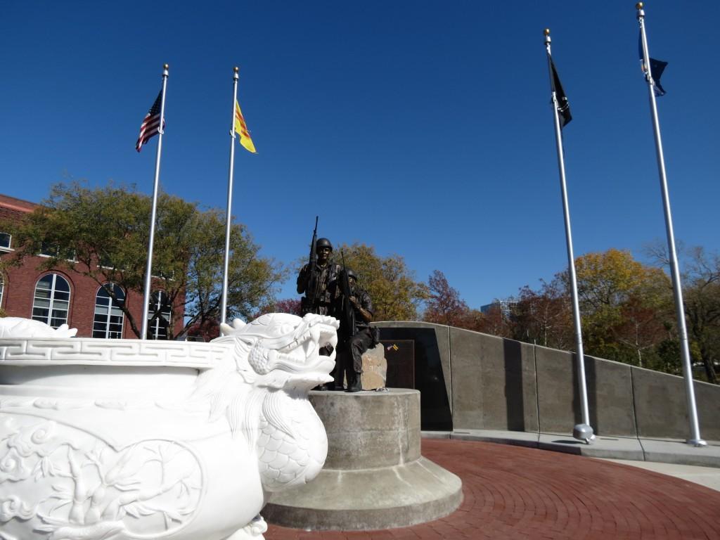 Veterans Memorial Park in Wichita, KS