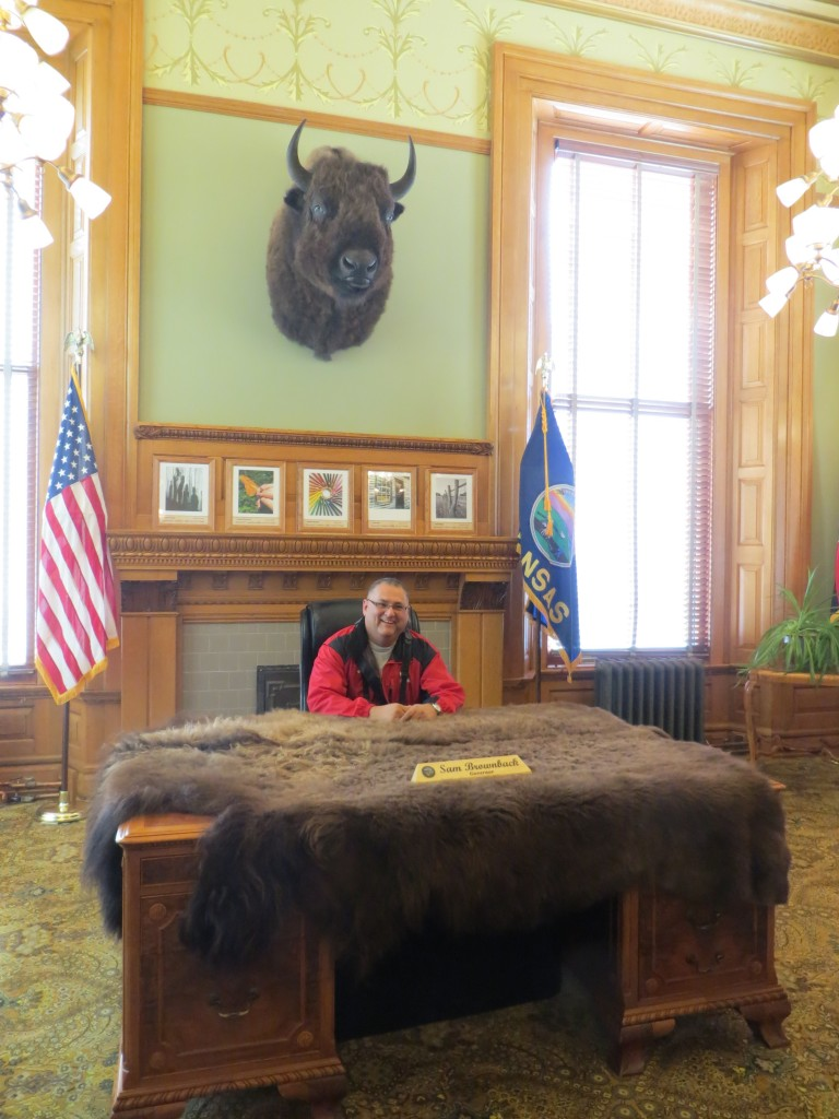 Governor's Office at Kansas State Capital