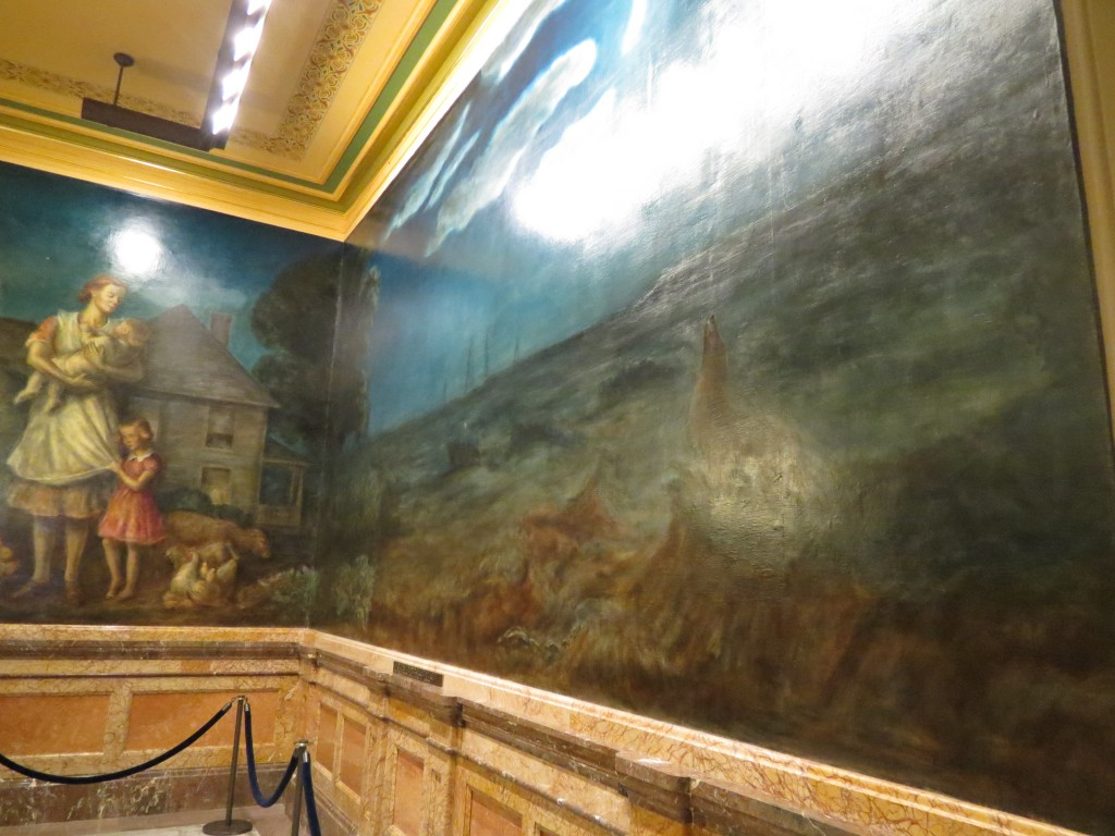 Paintings at Kansas State Capital