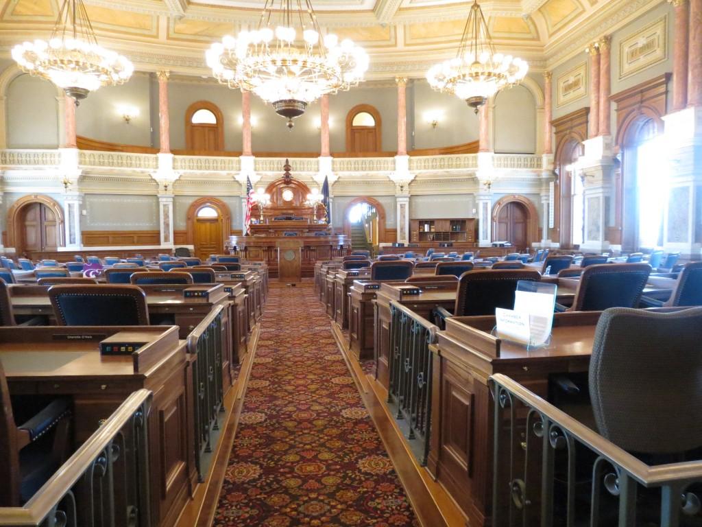 House of Representatives at Kansas State Capital