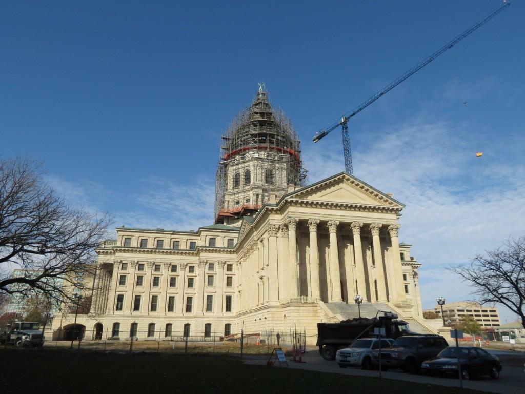 Kansas State Capital in Topeka