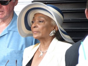 Nichelle Nichols attended to support her friend