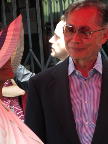 George Takei was a crowd favorite at the Hollywood Walk of Fame