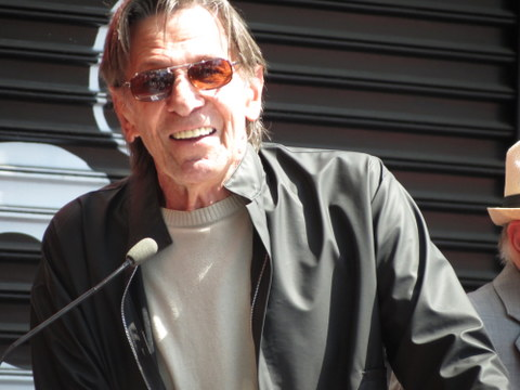 Leonard Nimoy gave a great speech