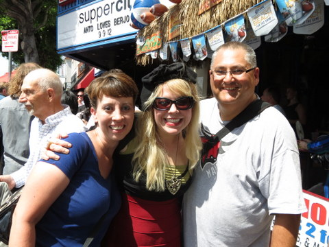 We met Kirsten Vangsness at the Walk of Fame induction