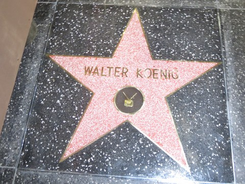 The Walter Koenig star