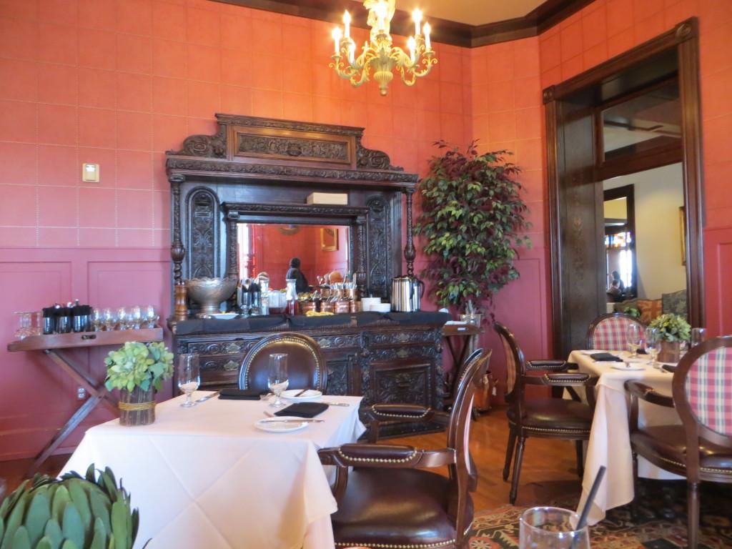Dining Room at Webster House
