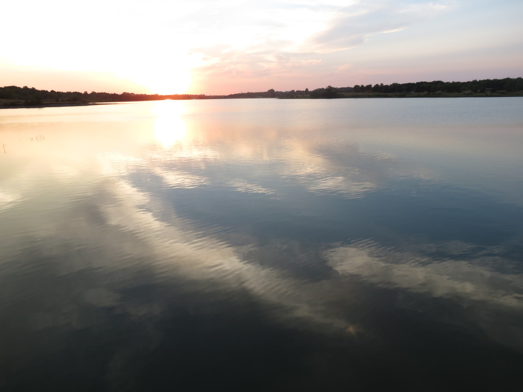 Sunset at Lake Zorinsky