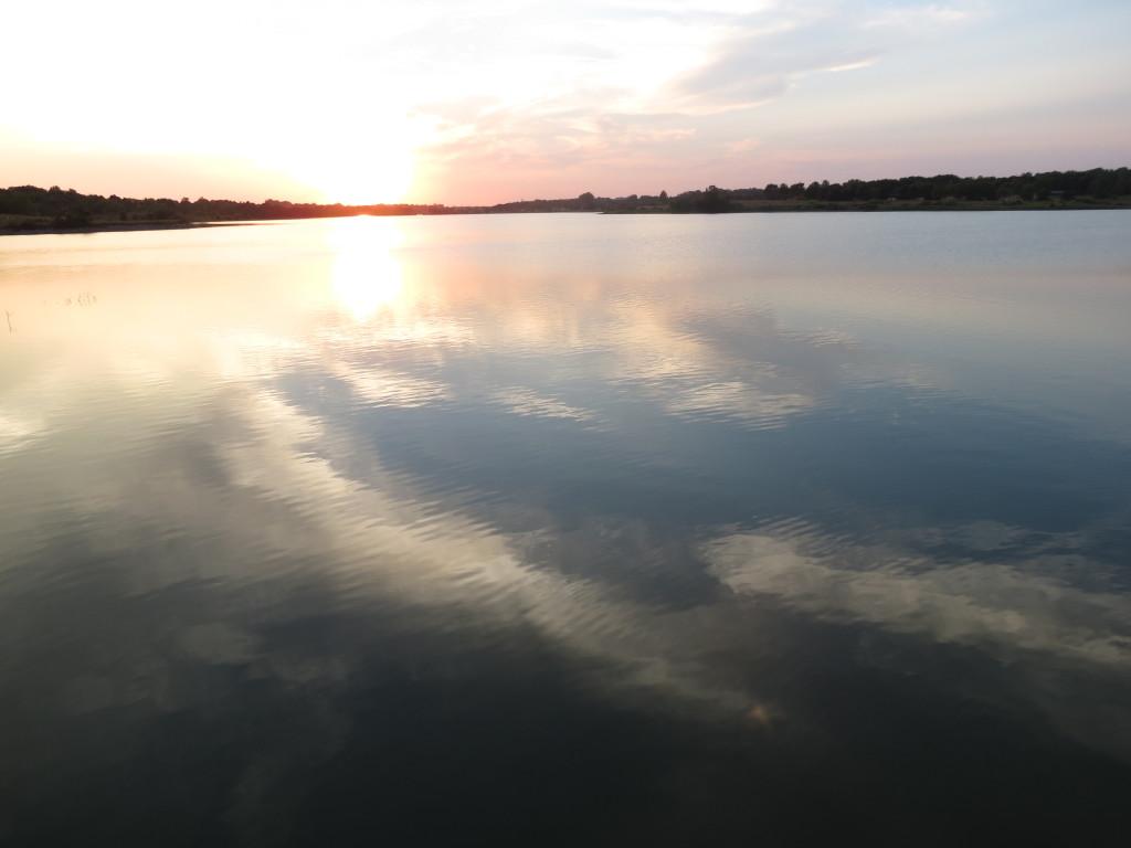 Sunset at Lake Zorinsky
