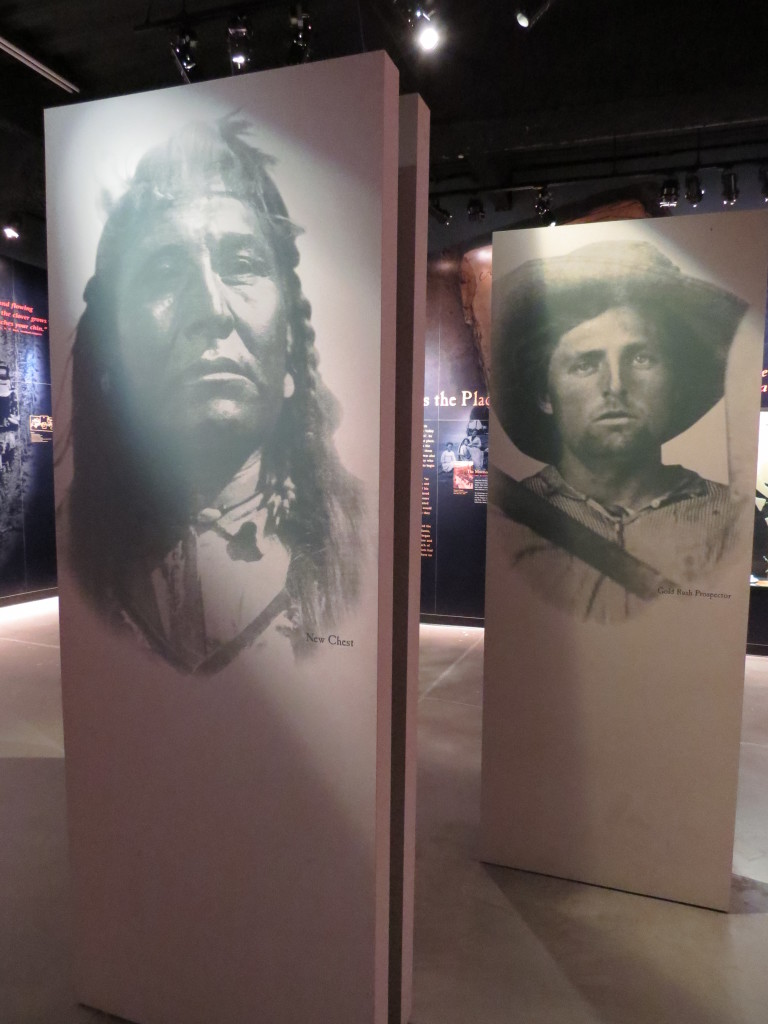 Native Americans and Pioneer history at the Kearney Archway