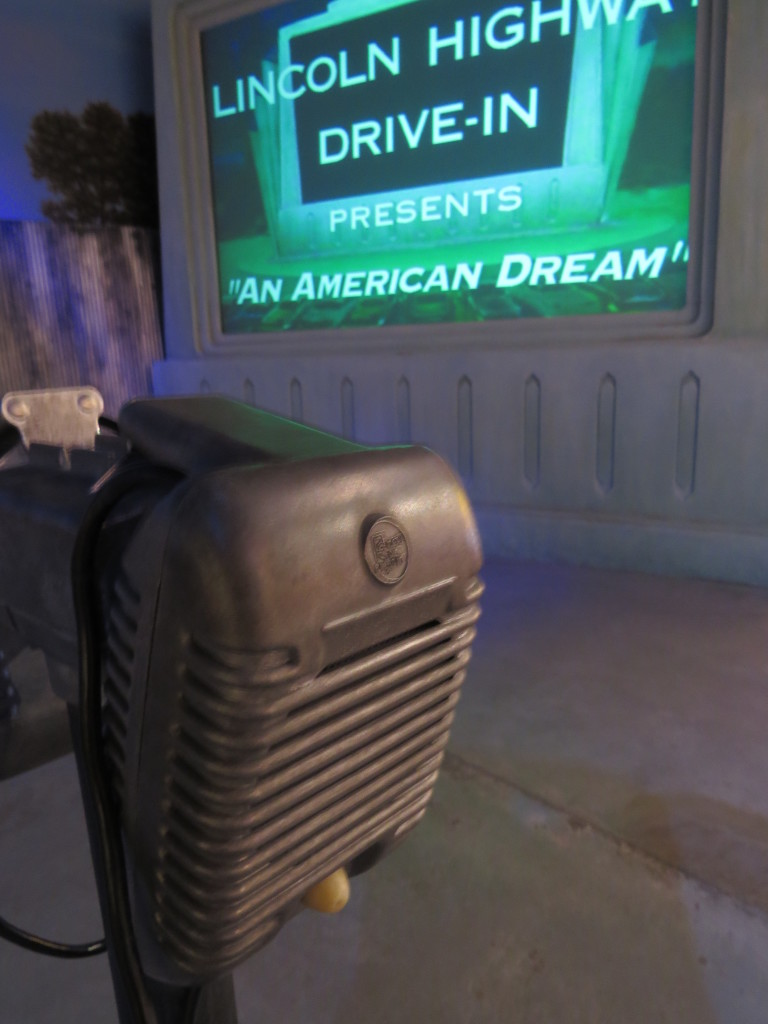 Old drive-in display at Kearney Archway