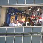 Orel Hershiser, Kyle Peterson and Mike Patrick make up the ESPN announcing crew for the games.