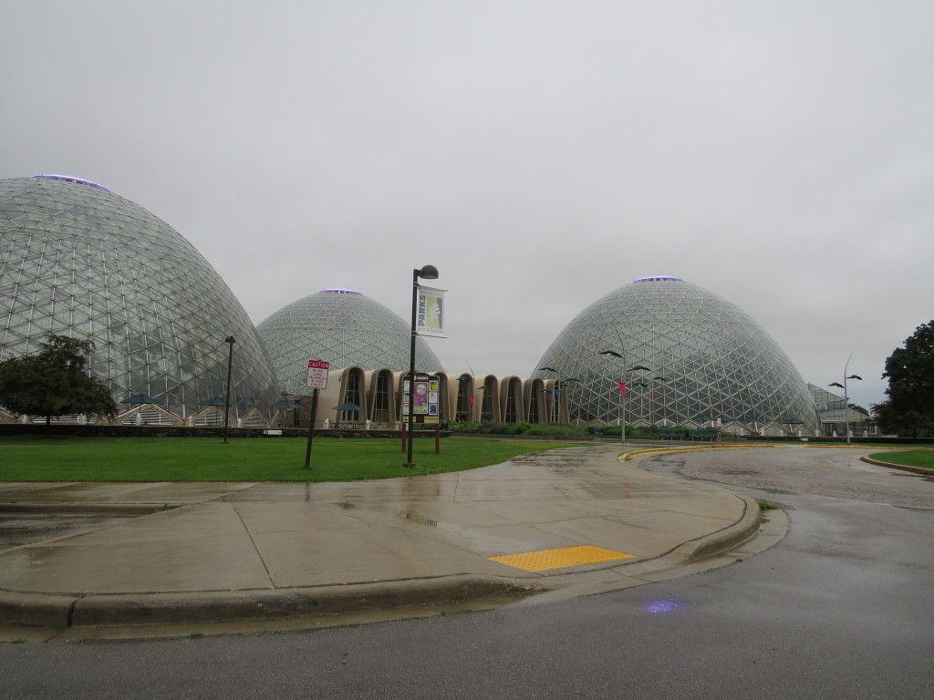 Mitchell Domes in Milwaukee