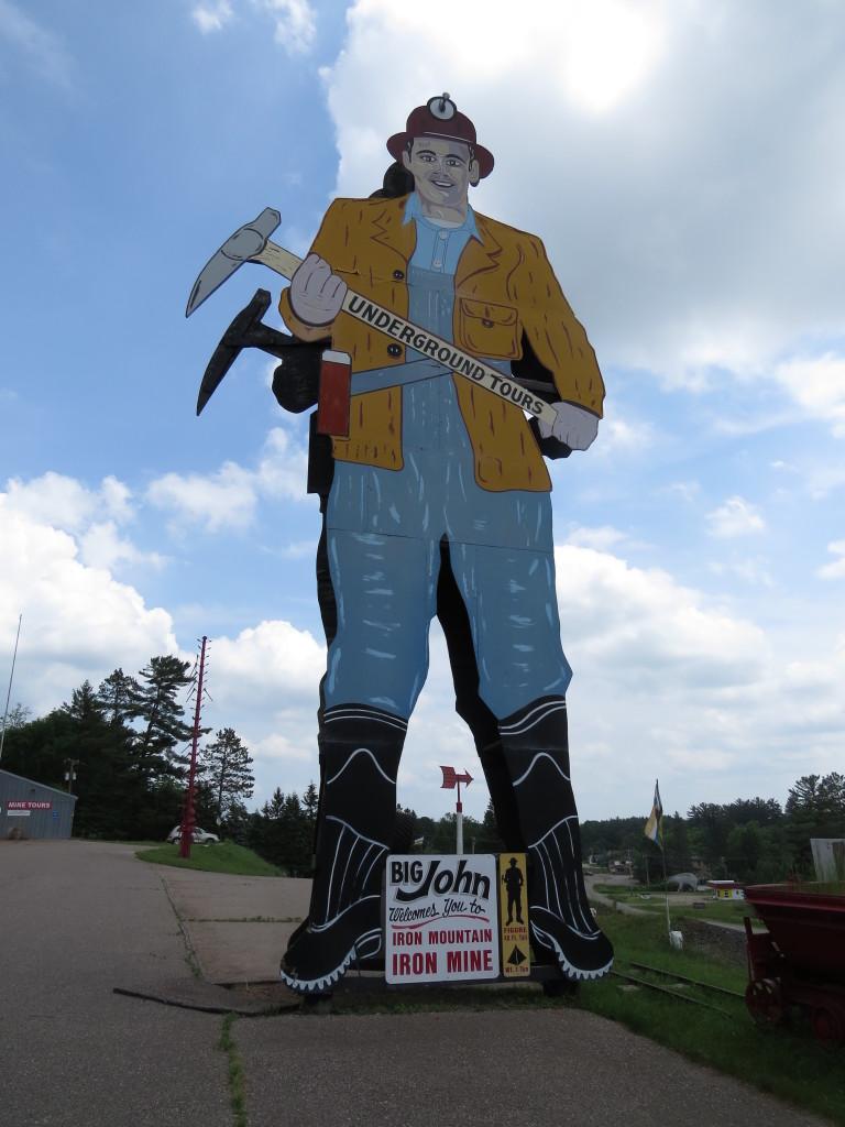 Big John at Iron Mountain
