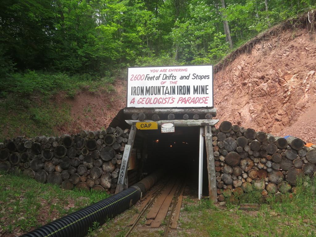 Iron Mountain mine in Upper Michigan