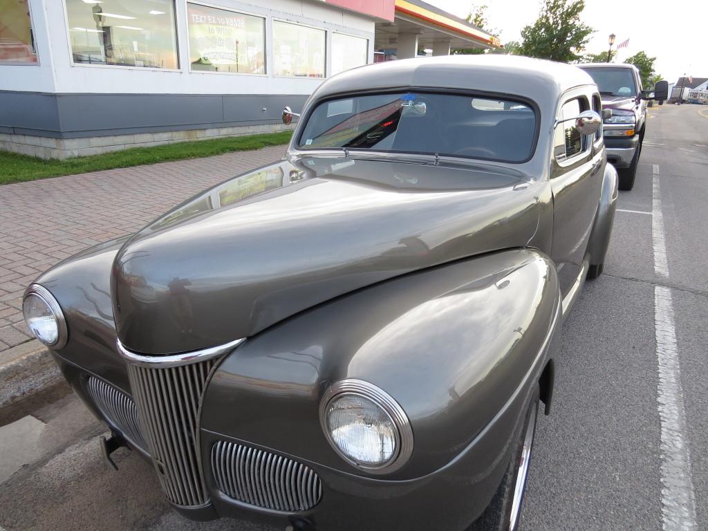 Car show in St. Ignace, Michigan