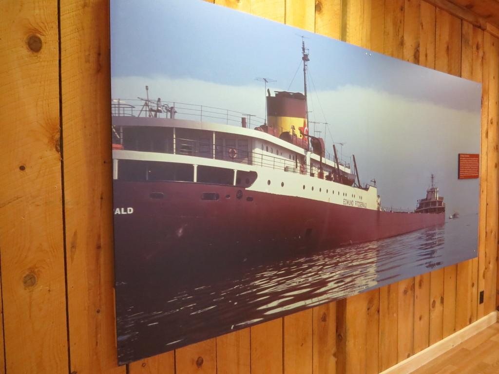 Edmund Fitzgerald at Shipwreck Museum