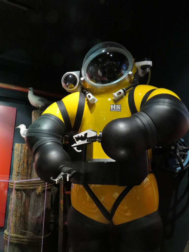 Diving suit at Shipwreck Museum