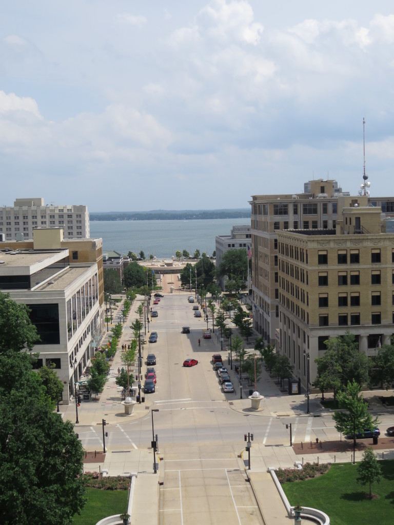view of downtown Madison, Wisconsin