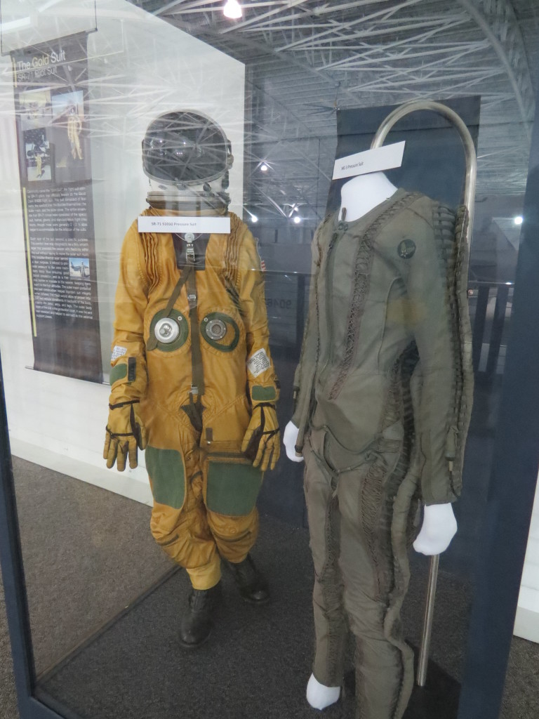 Aircrew uniform at SAS Museum