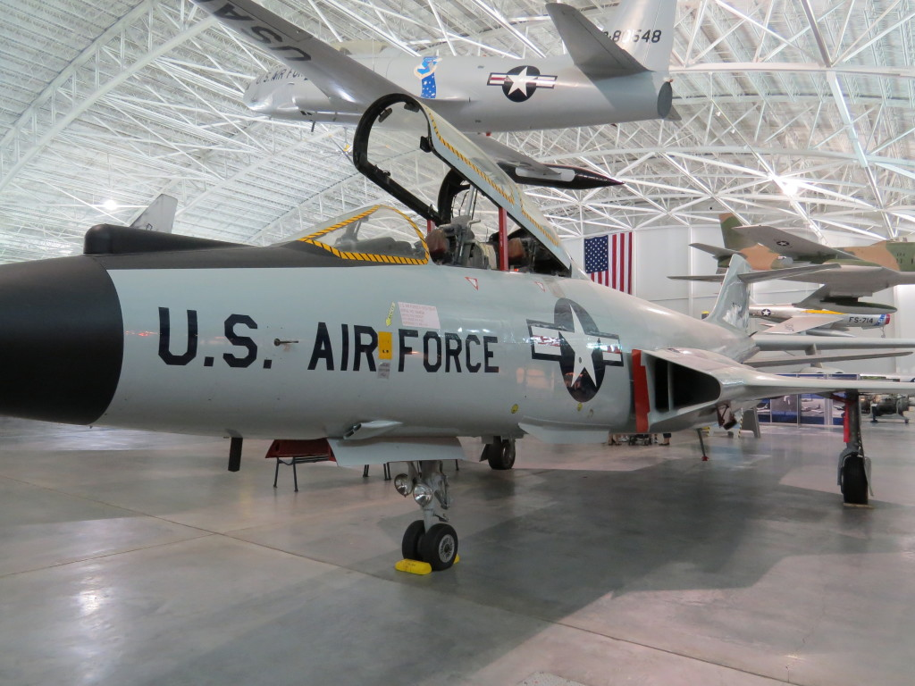 F101B on display at SAS Museum