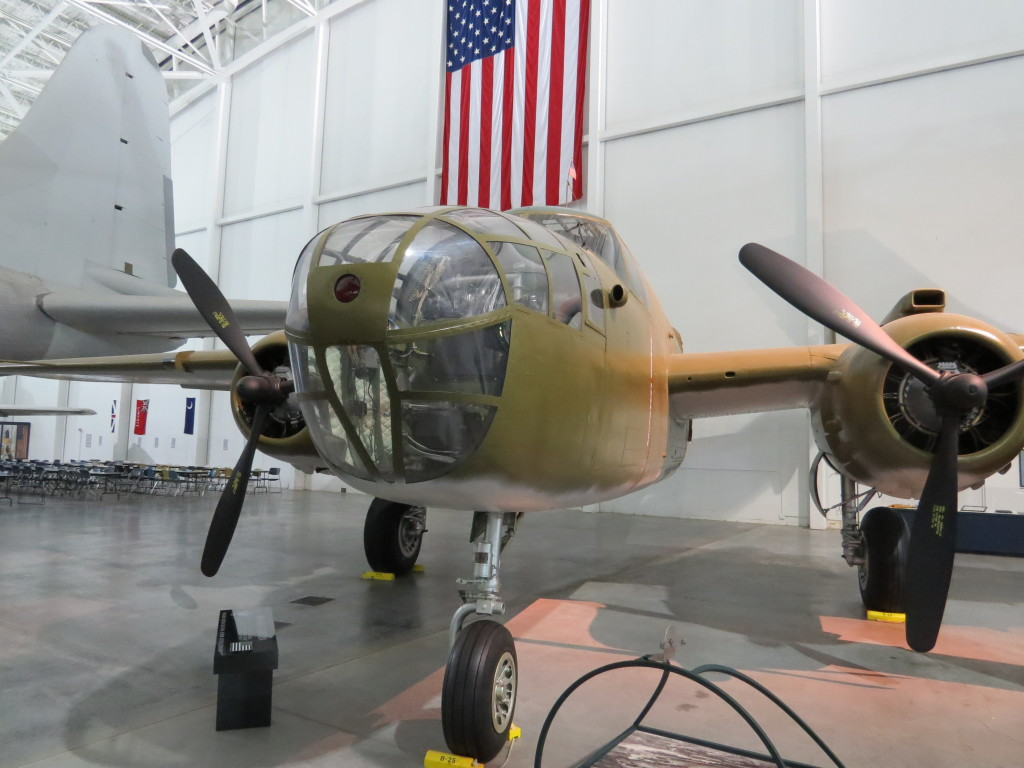 B25's were used on raid of Tokyo