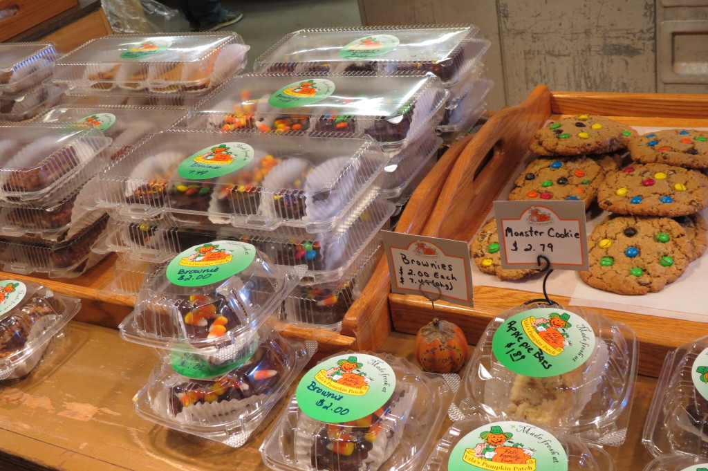 Fall treats at Vala's Pumpkin Patch