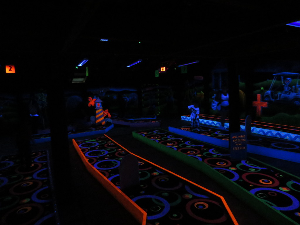 Glow Golf at Vala's Pumpkin Patch