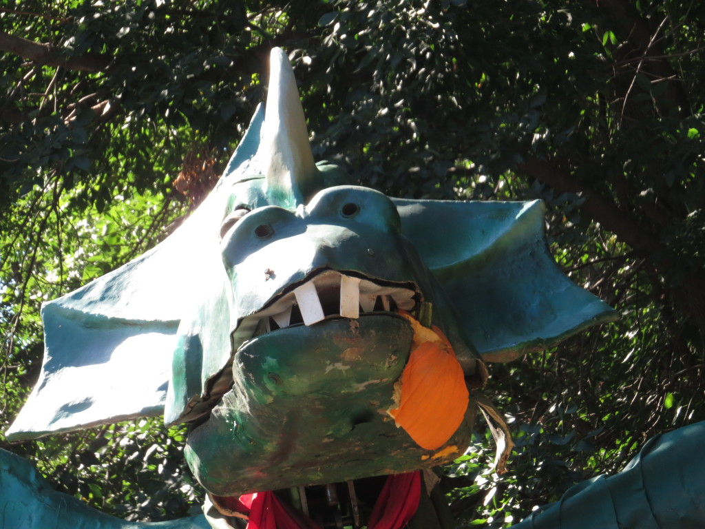 Pumpkin Smashing Dragon in Vala's Pumpkin Patch