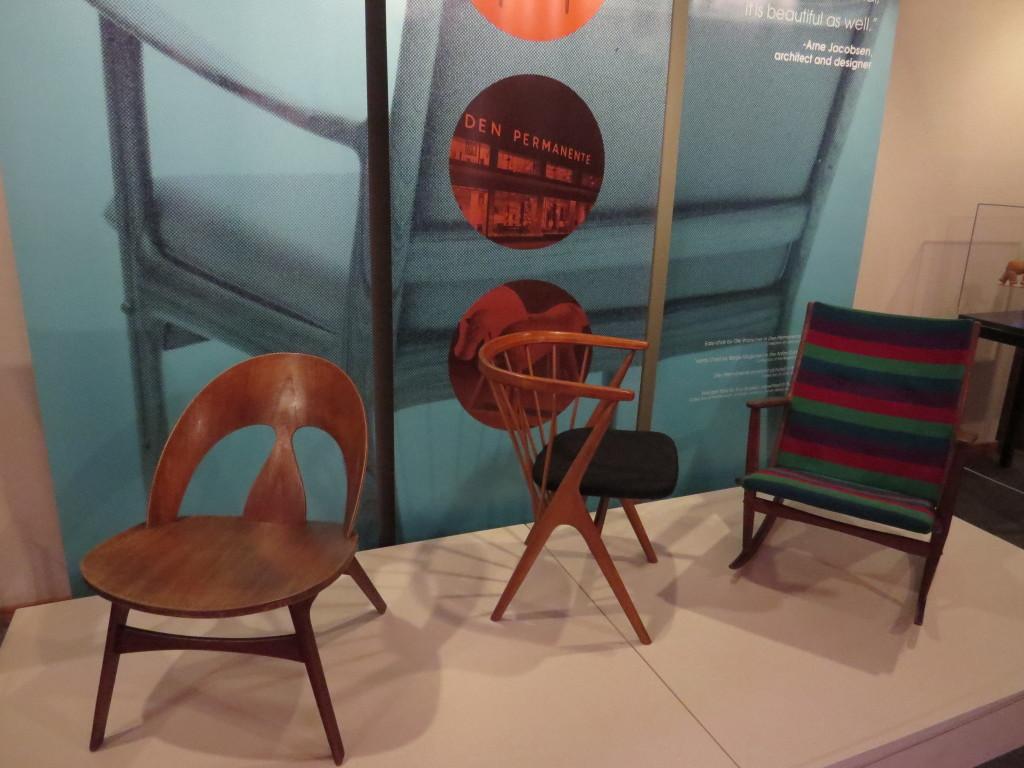 Danish influenced furniture at Danish Immigrant Museum in Elk Horn, IA