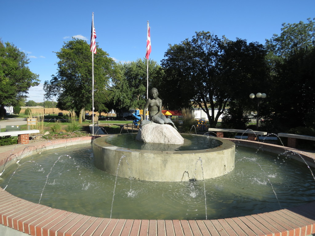 Fountain in Kimballton, IA