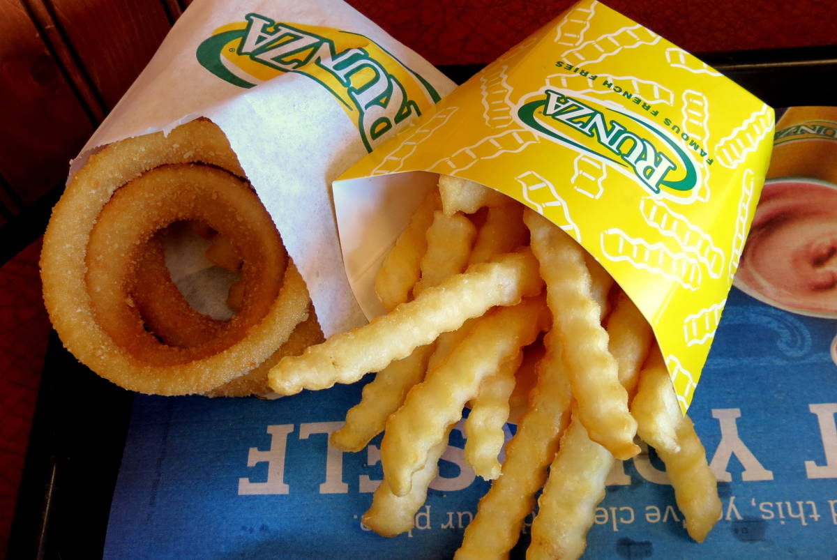 Runza fries and rings