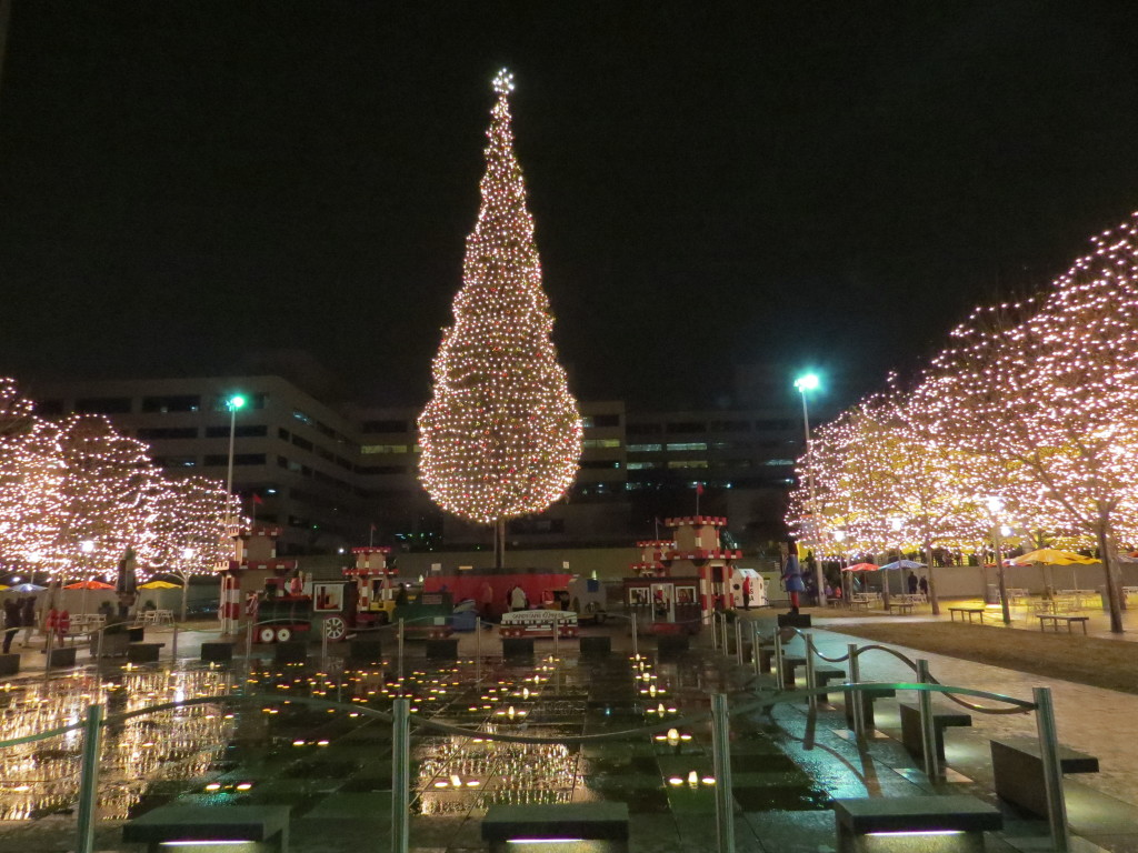 Mayor\'s Christmas tree and ice skating highlight holiday season at ...