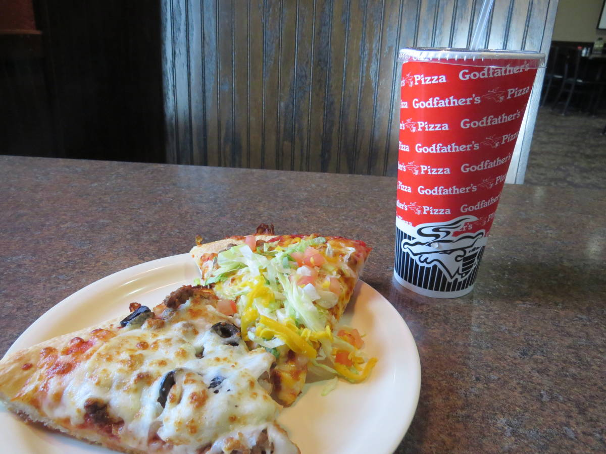 Magnificent Godfathers Pizza Grew From Omaha Roots Giveaway The Download Free Architecture Designs Grimeyleaguecom