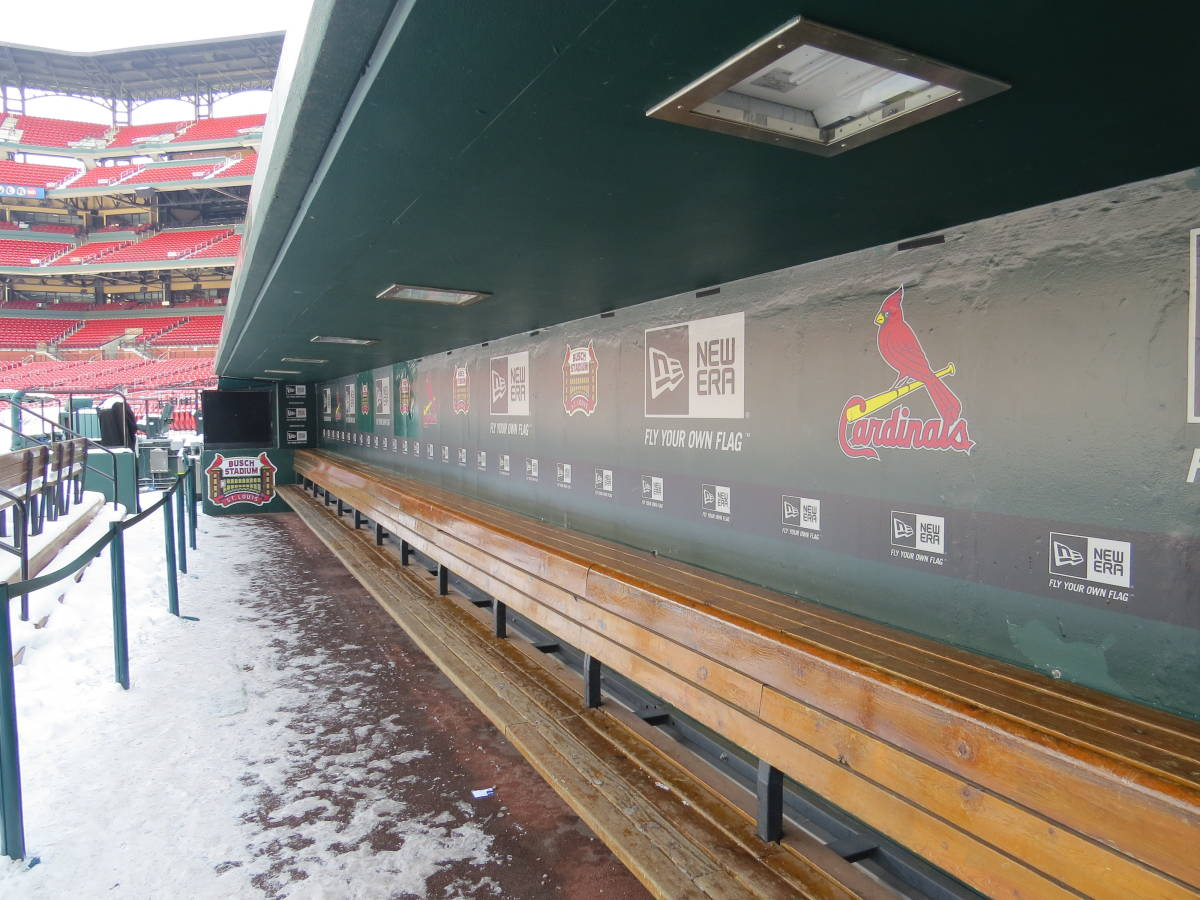 Busch Stadium Tour Warms Up Baseball Fans The Walking