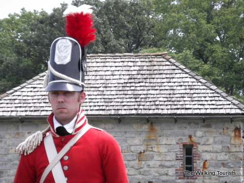 Fort Atkinson early 1800s military re-enactment