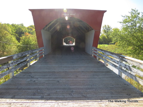 Covered bridge we visited during Bridges of Madison County event.