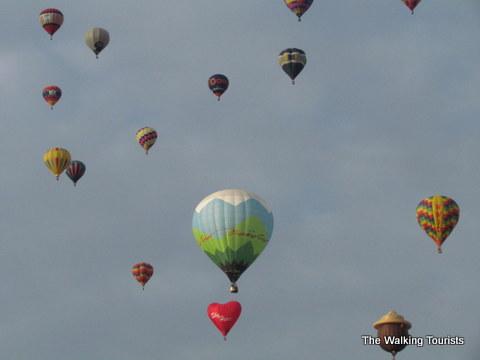 Albuquerque's balloon fiesta launch.