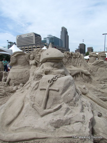 Sand in the City event in Omaha.