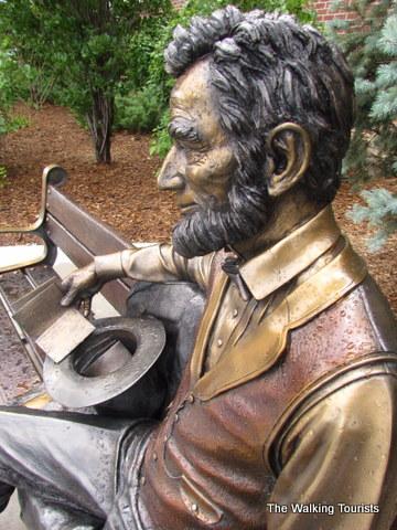 Abe Lincoln statue at Scheels