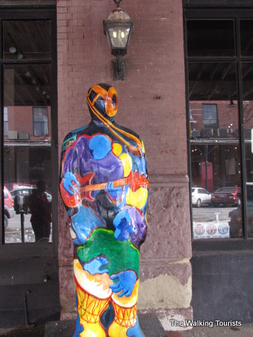 J. Doe sculpture