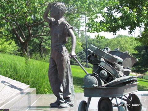 Heartland of America Park memorials