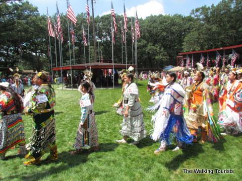 Winnebago tribal pow wow in northeast Nebraska