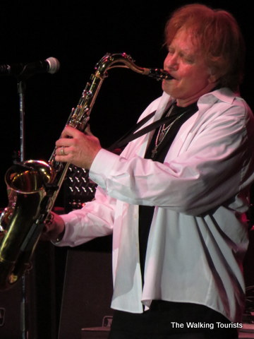Eddie Money on the sax