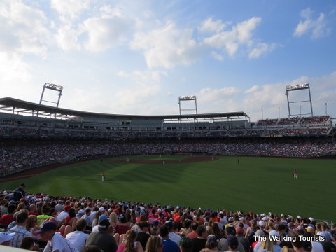 College World Series at TD Ameritrade Park in Omaha