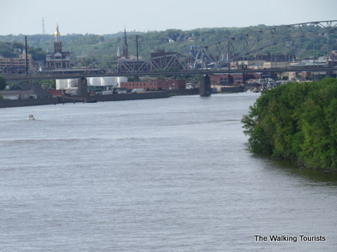 Gorgeous views of the Mississippi River