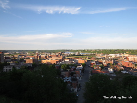 View of Downtown Dubuque