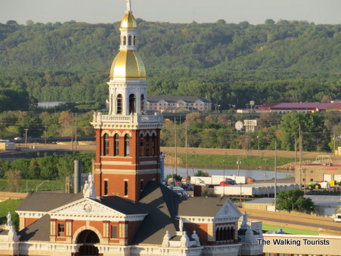 Gold Dome in Dubuque