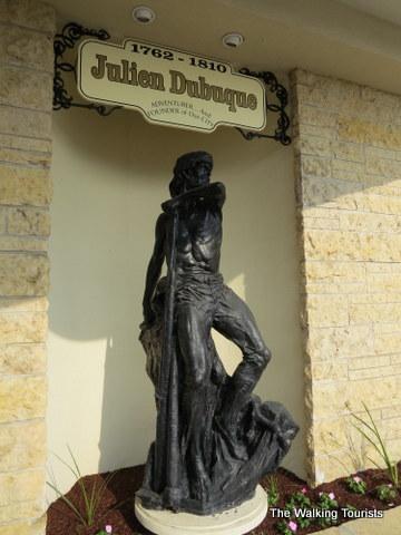 Julien Dubuque statue